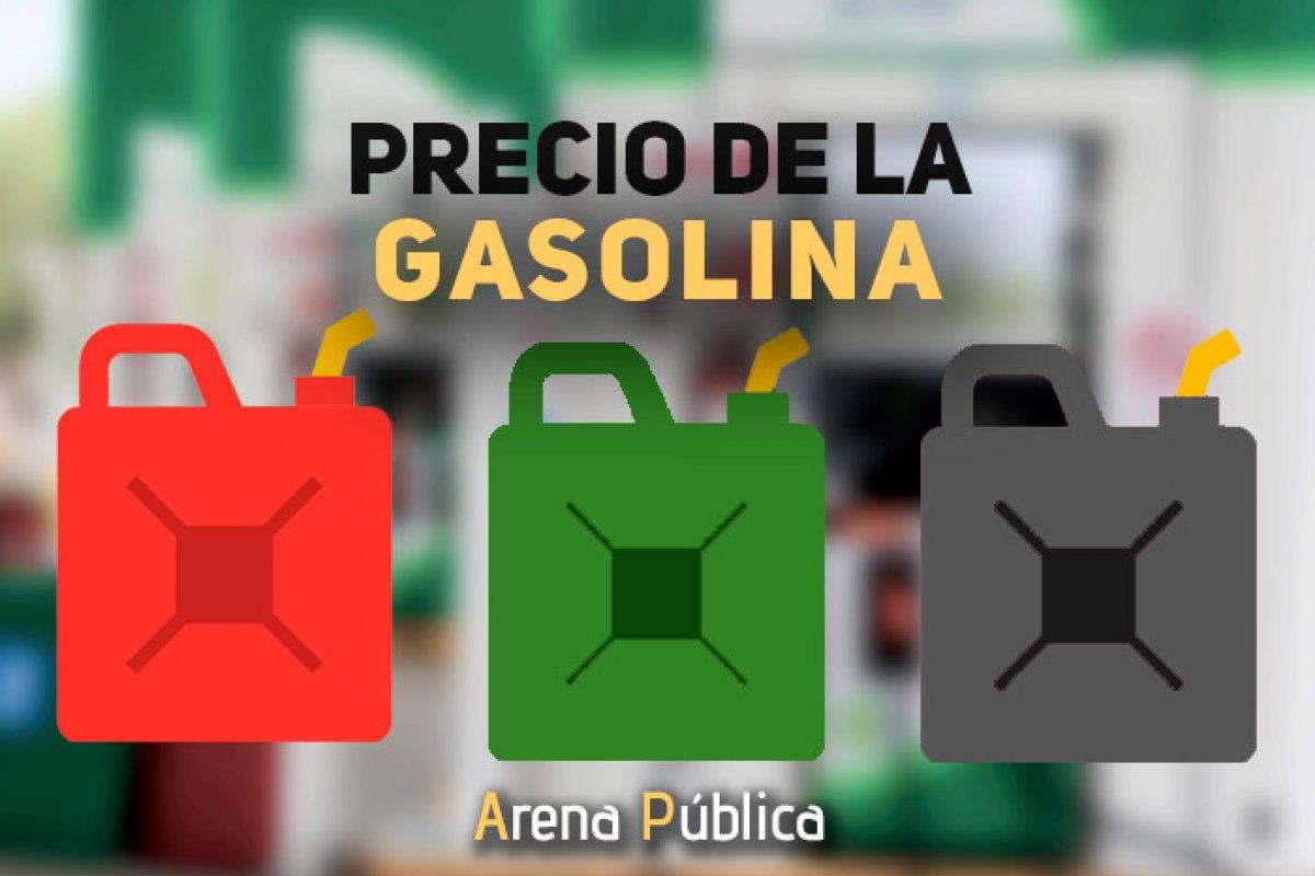 Precio de la gasolina en México, hoy