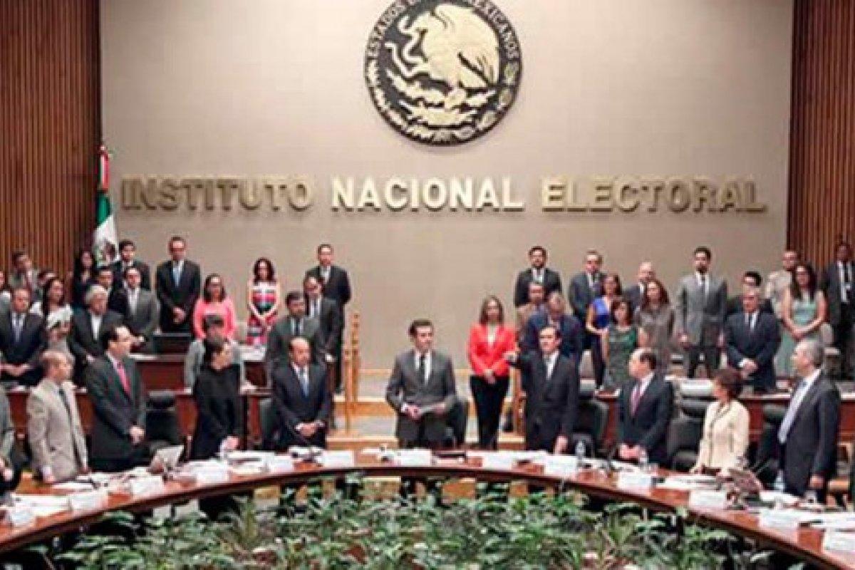 El Instituto Nacional Electoral es la autoridad responsable de las elecciones que hoy se llevan a cabo