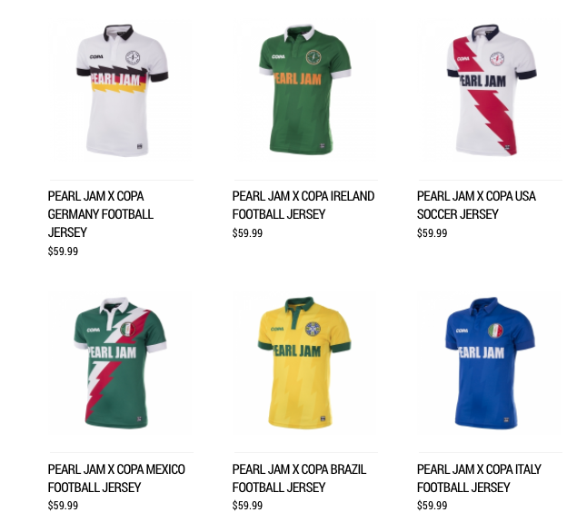 842a88a429f27 Cada jersey tiene un precio de 59.99 dólares y se pueden adquirir a través  de la página oficial de la banda.