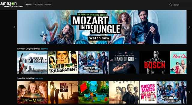 Televisa Alternative Originals (TAO) venderá contenido a Amazon Prime Video.
