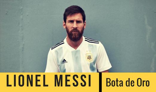 Lionel Messi lidera las apuestas para ganar la Bota de Oro del mundial