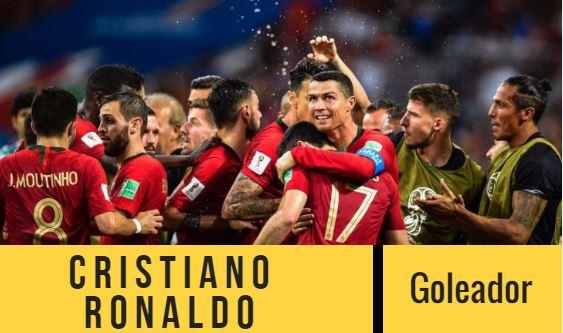 Cristiano Ronaldo es el goleador por el que todo el  mundo apuesta en el juego Irán contra Portugal.