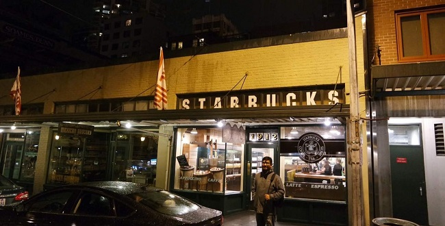 Primer Starbucks en Seattle Washington